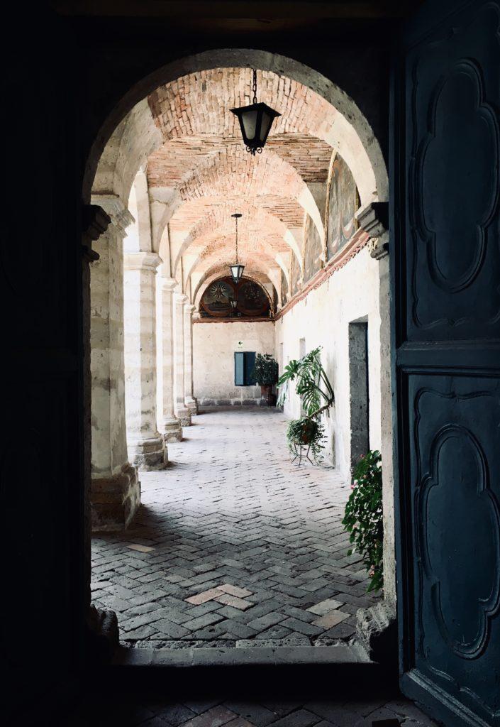 Santa Catalina Monastery colonial architecture