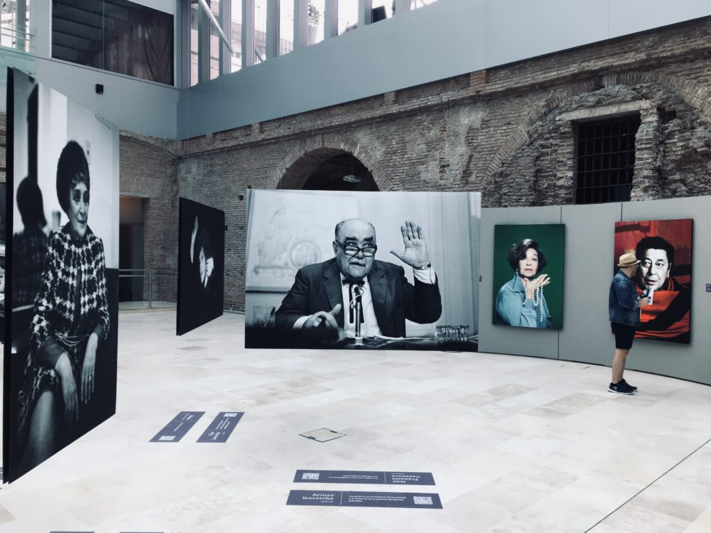 Museo Casa Rosada with a photo exhibition of famous Argentinians