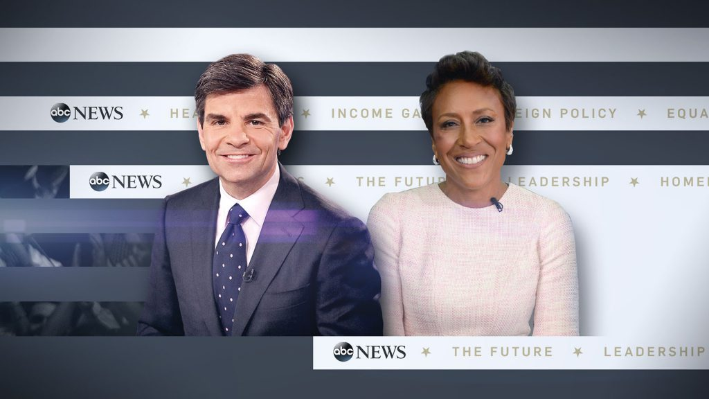 ABC News Election Team promotion design and end page design