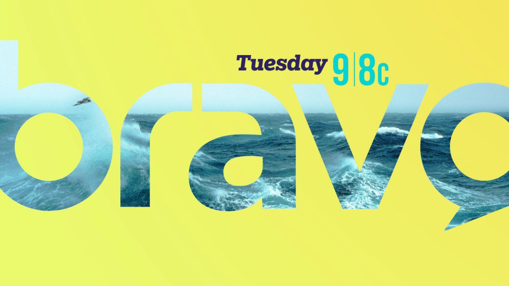 Bravo broadcast branding tv frames design with tune in