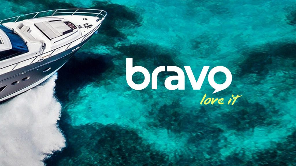 Bravo new logo design tv design frame