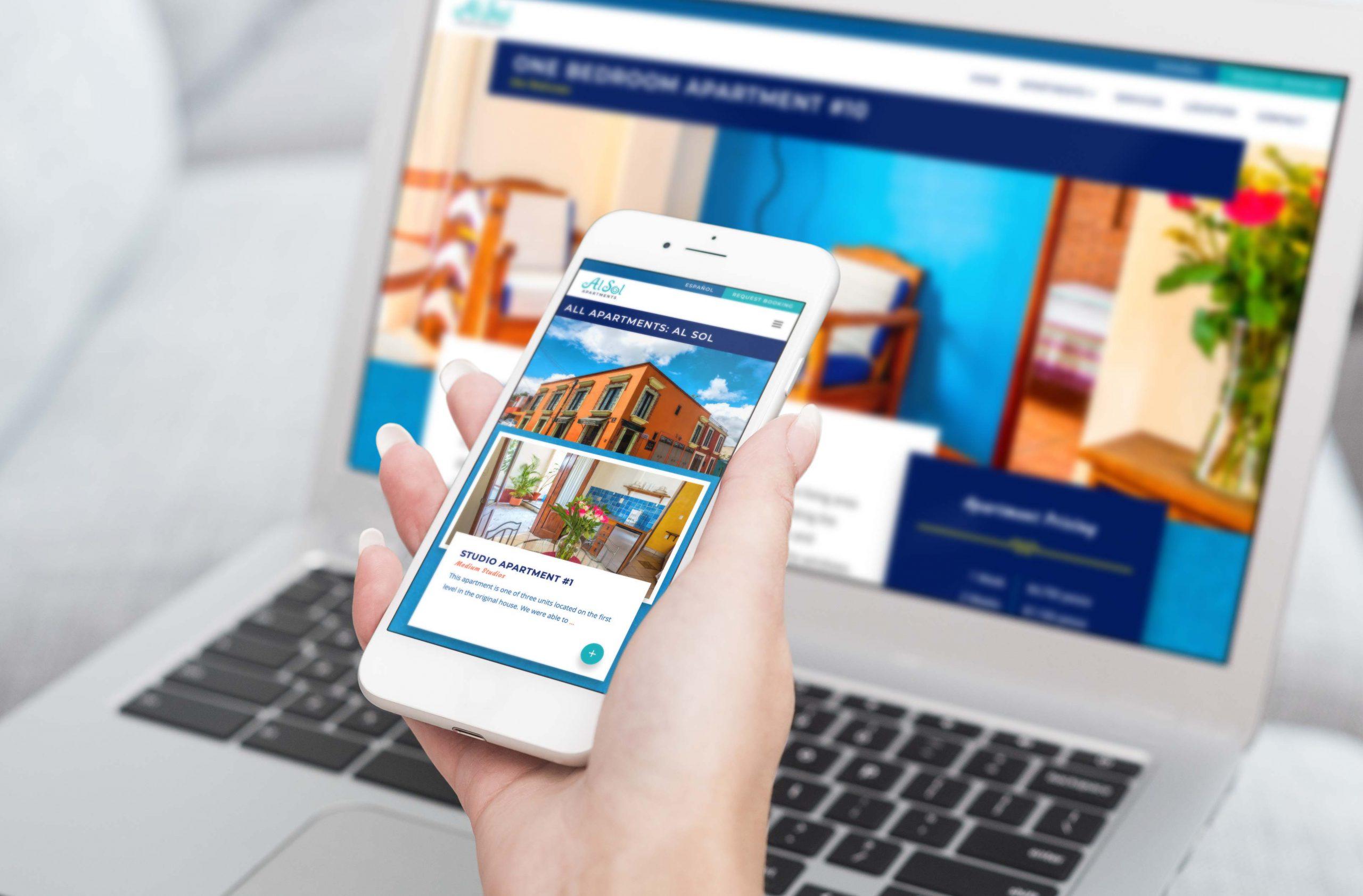 Hospitality and hotel website design