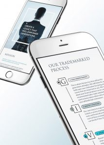 Nonprofit app design with a give process inside smarphones