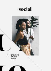 Social media deign for fashion brands