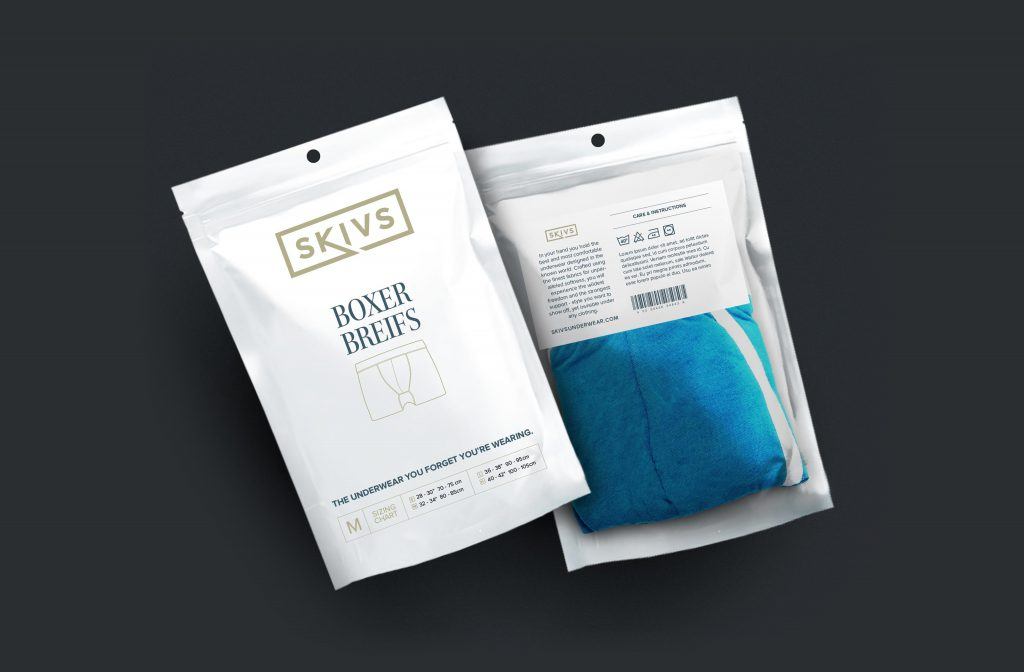 Clothing packaging design