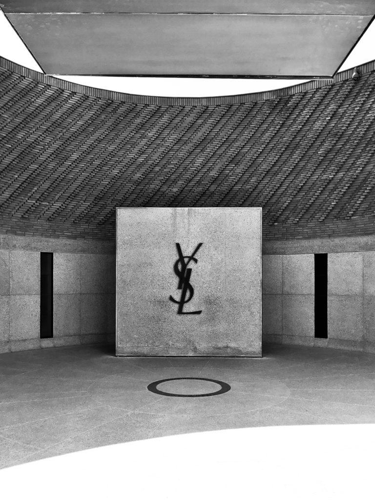 Yves Saint Laurent Museum Entrance