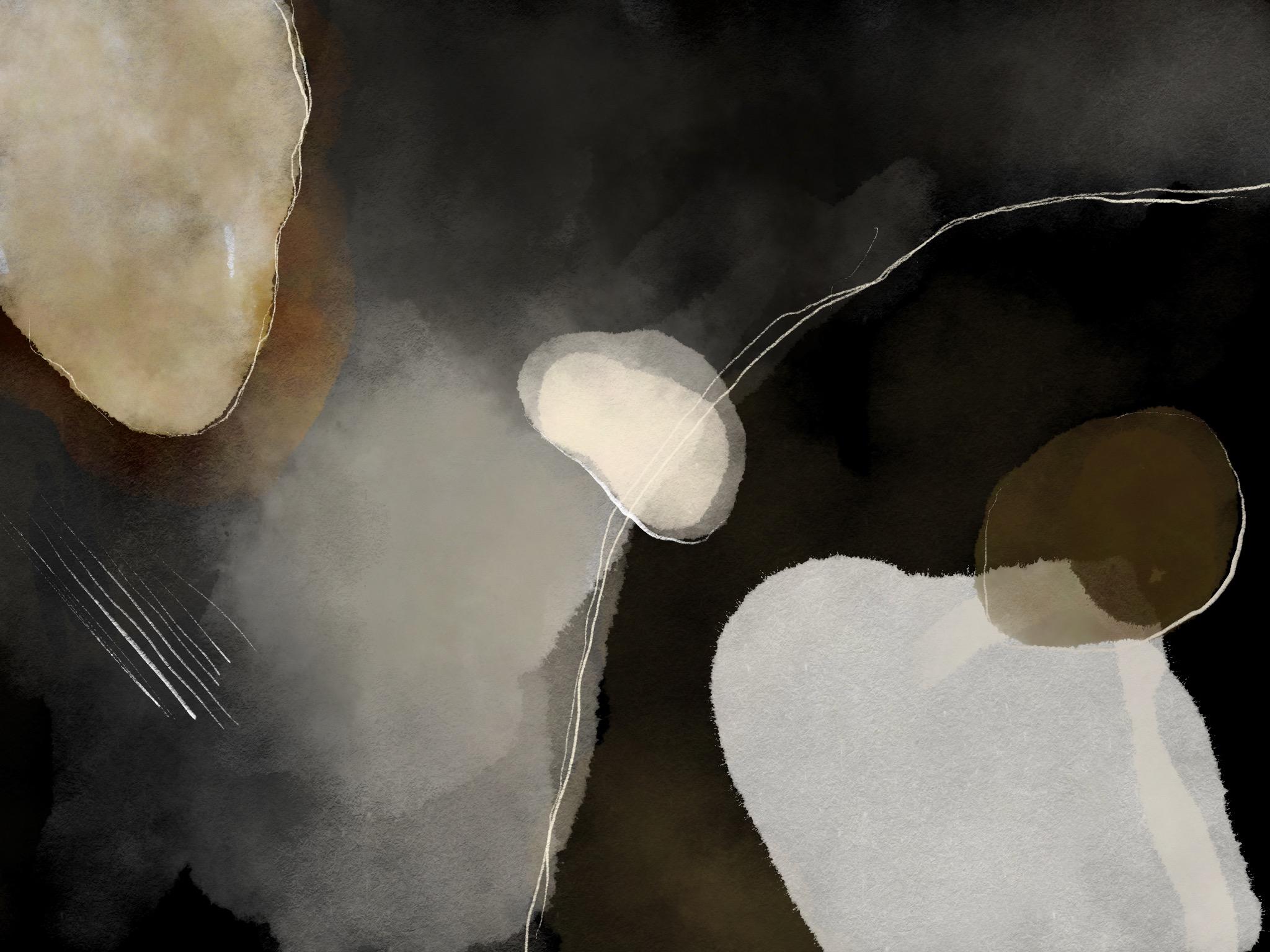 Joseph Kiely abstract painting with the adobe fresco app