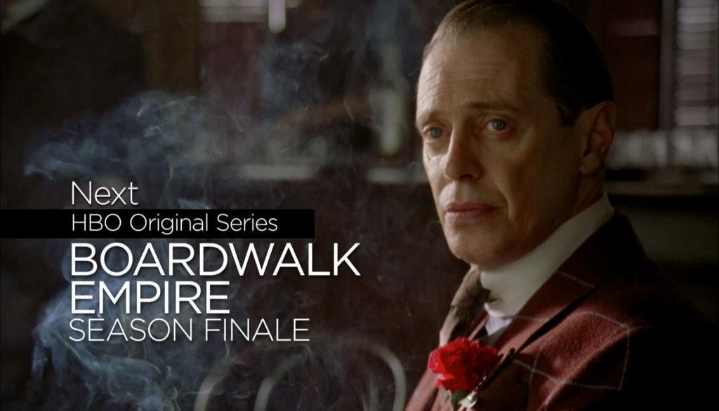 HBO rebrand Bordwalk Empire tune in design