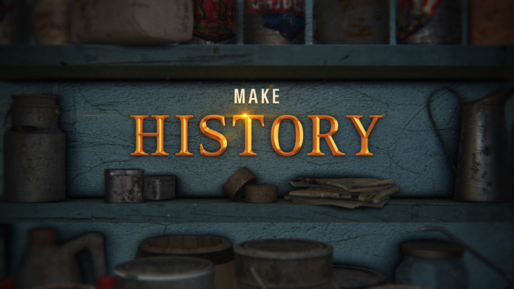 History Channel Branding American Pickers background of antiques