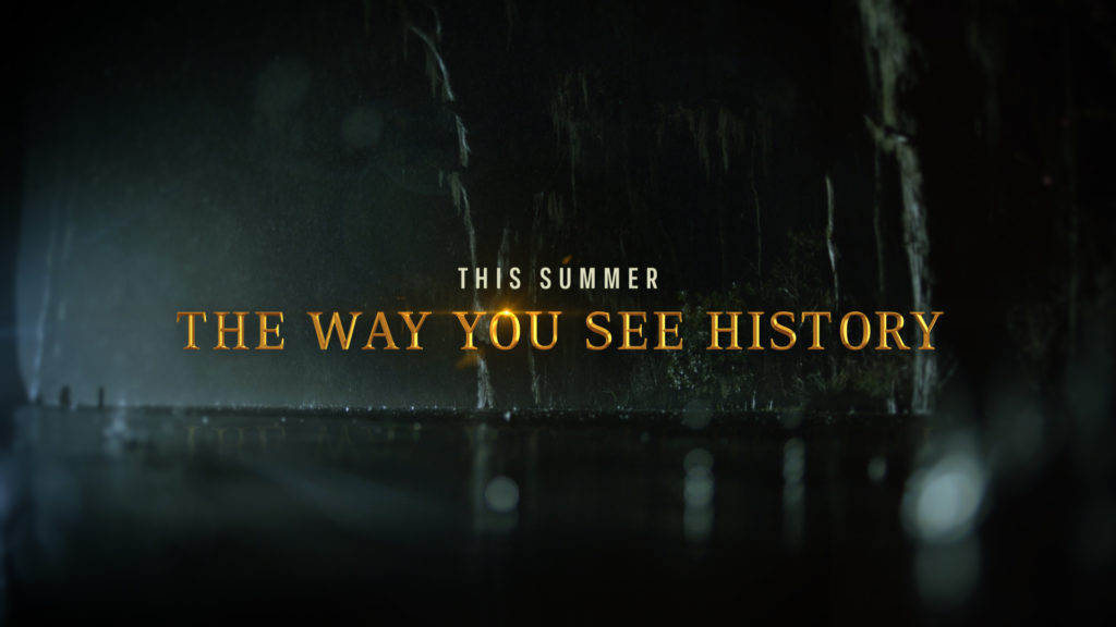 History Channel Branding swamp background for the program Swamp Men