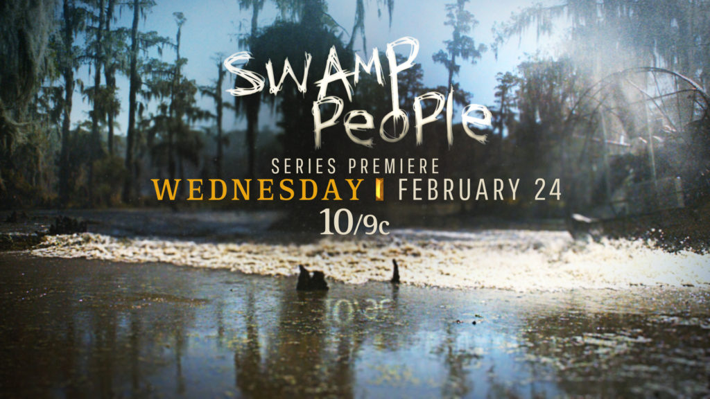 Swamp Men tune in for the History Channel rebrand