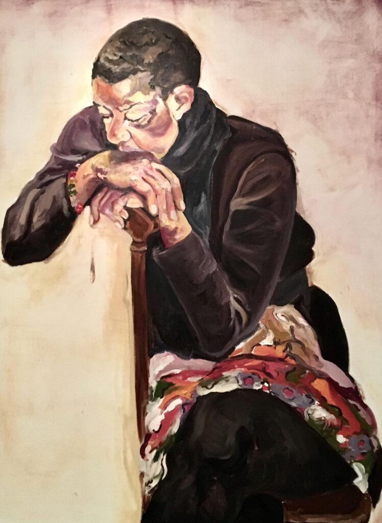 Jordan Casteel oil paintings