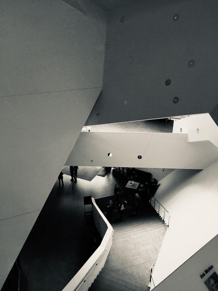 Denver Art Museum inside architecture
