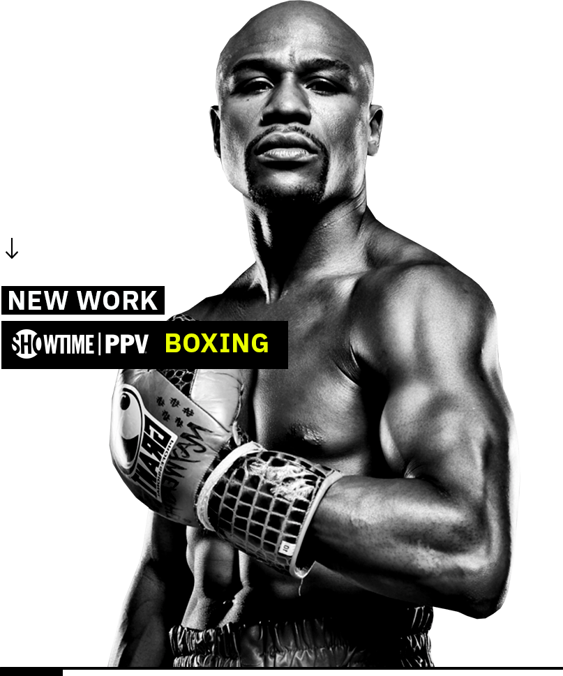 Showtime Boxing design with Floyd Mayweather