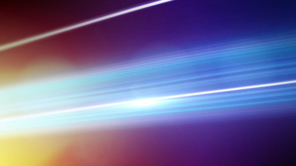 NBC Universal Syndication Studios logo animation design fiber optic light streaks