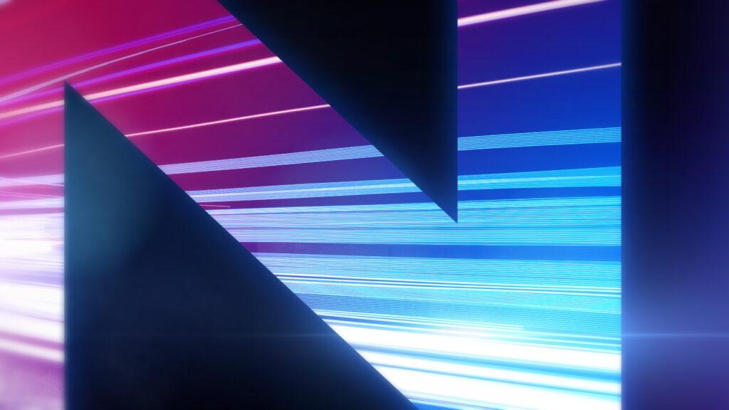 NBC Universal Syndication Studios logo animation design light streaming