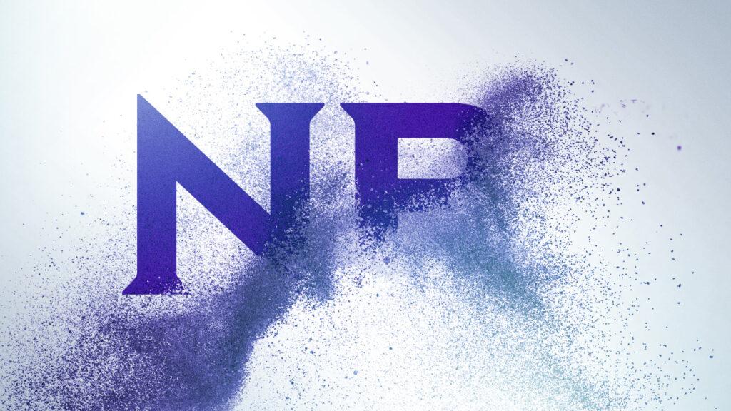 NBC Universal Syndication Studios logo animation design creation through small particles