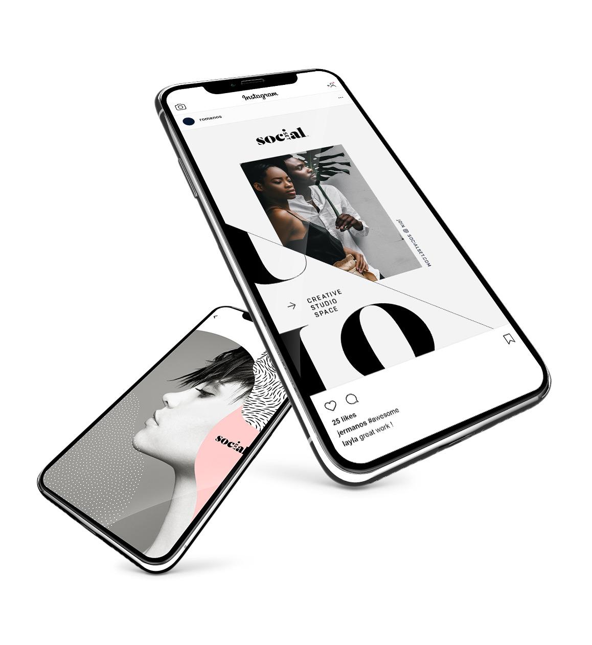 fashion influencer instagram toolkit design